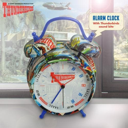 Thunderbirds Alarm Clock - Gerry Anderson Official - 1