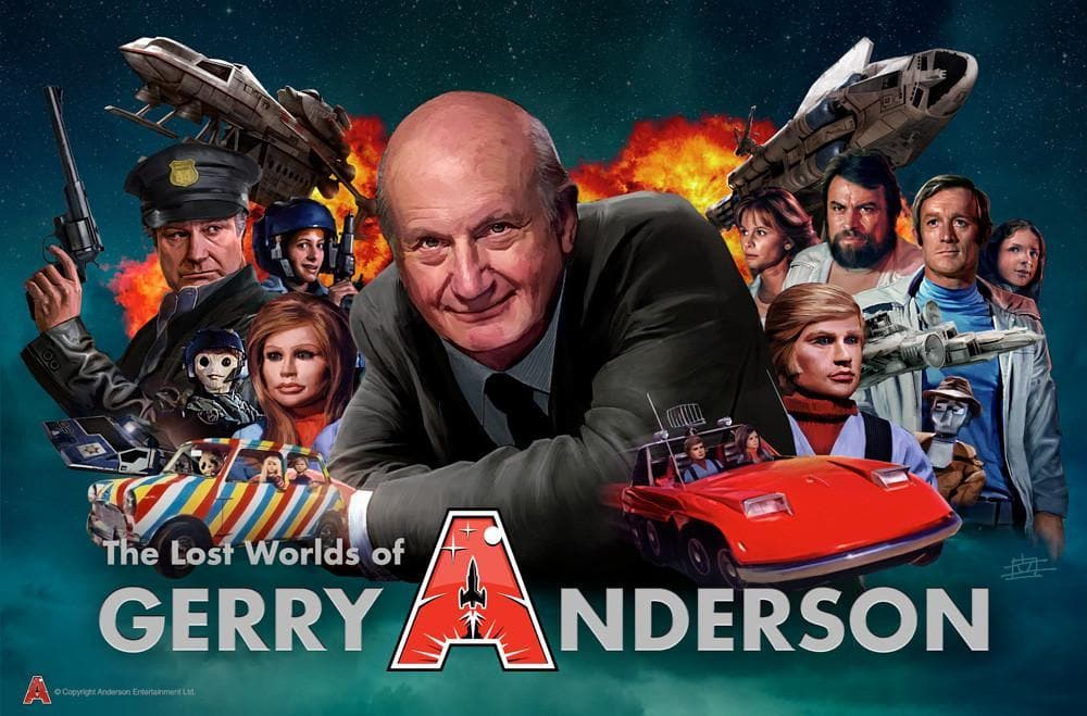 Lost Worlds of Gerry Anderson Poster by Eric Chu - The Gerry Anderson Store