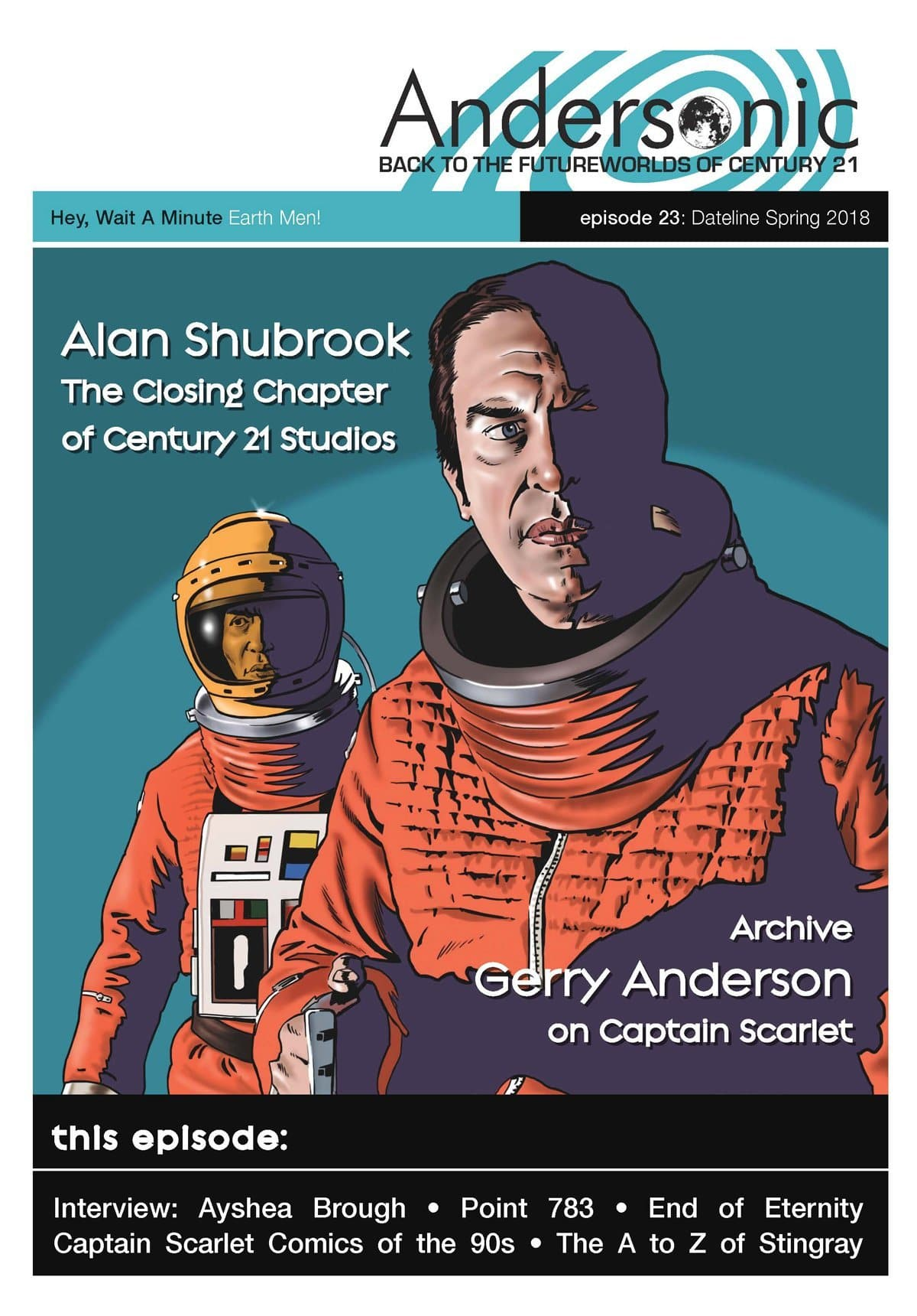 Andersonic Fanzine - Issue 23 (Spring 2018) - The Gerry Anderson Store