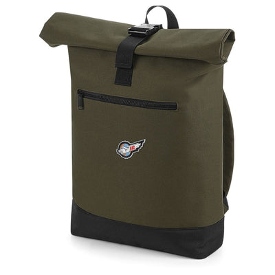 International Rescue/Thunderbirds Rolltop Backpack [Official & Exclusive] - The Gerry Anderson Store