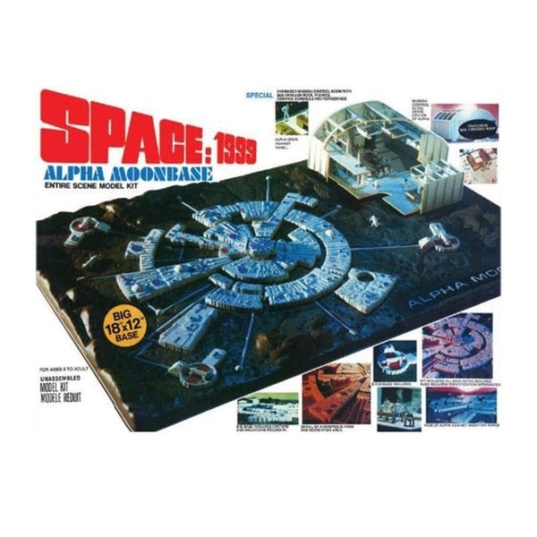Space: 1999 Alpha Moonbase Model Kit - The Gerry Anderson Store