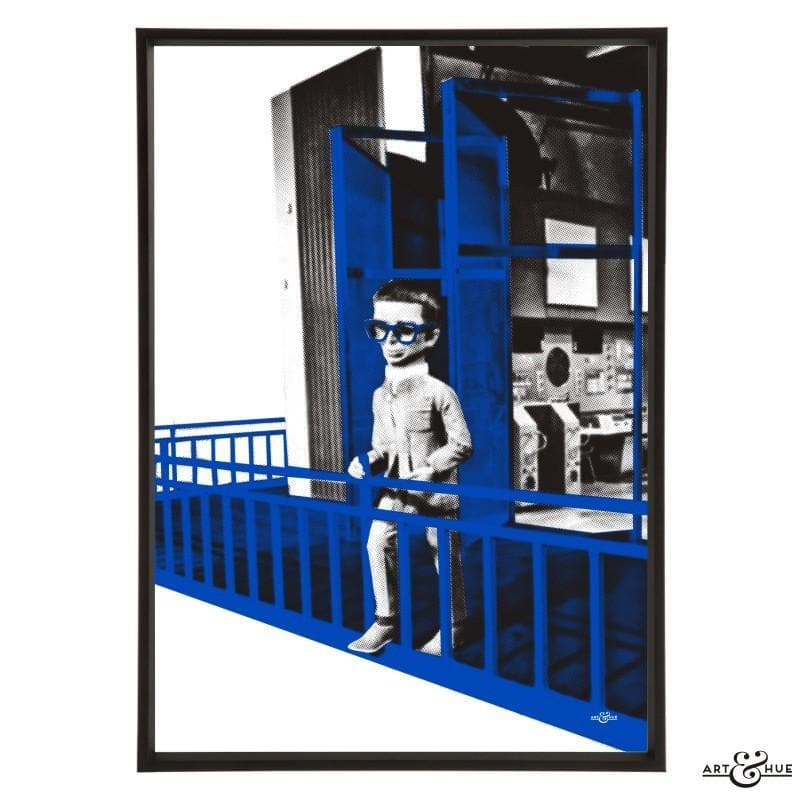 Brains Balcony Pop Art Print - Gerry Anderson Official - 10
