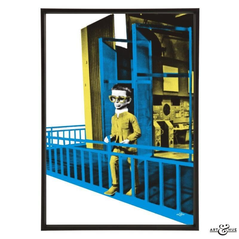 Brains Balcony Pop Art Print - The Gerry Anderson Store