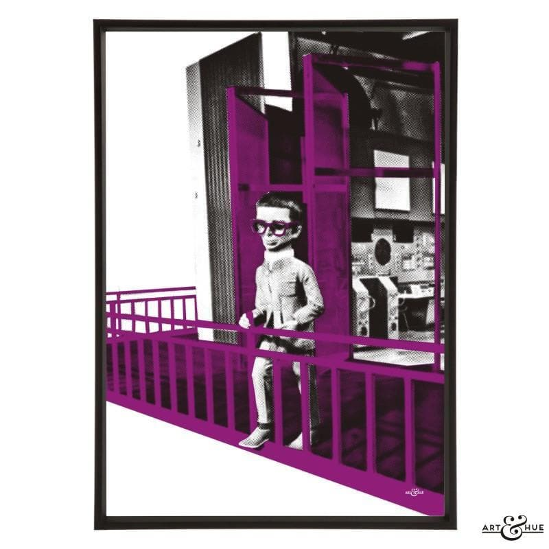 Brains Balcony Pop Art Print - Gerry Anderson Official - 11