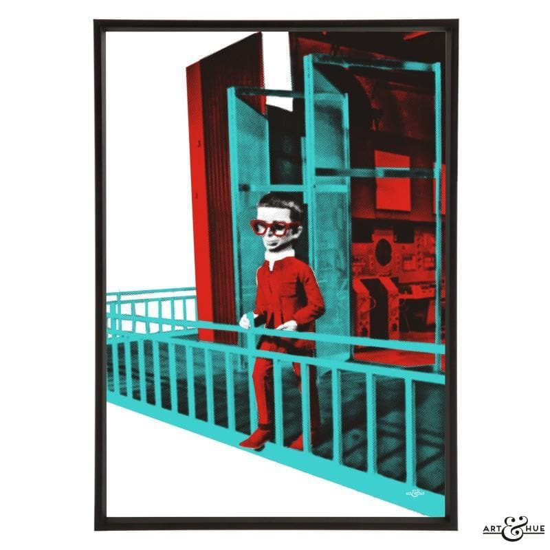 Brains Balcony Pop Art Print - Gerry Anderson Official - 21