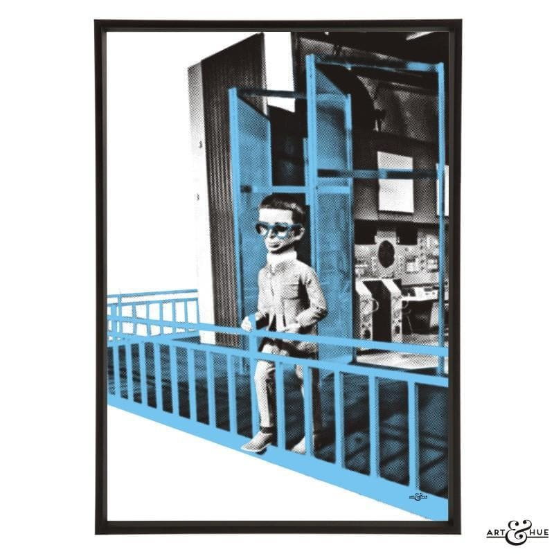 Brains Balcony Pop Art Print - Gerry Anderson Official - 9