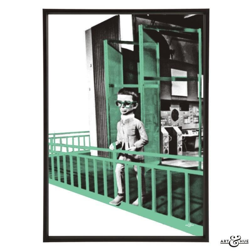 Brains Balcony Pop Art Print - Gerry Anderson Official - 5