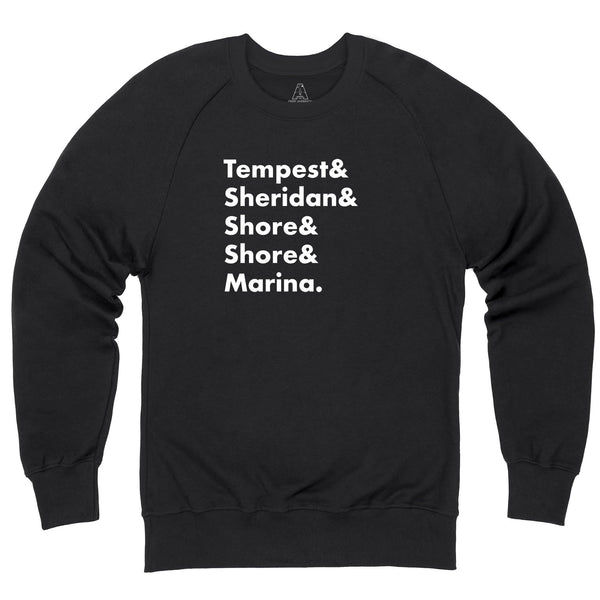 Heroes of Marineville Stingray Sweatshirt [Official & Exclusive] - The Gerry Anderson Store