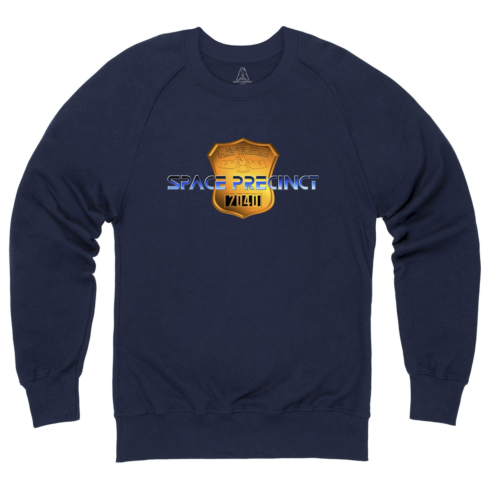 Space Precinct Logo Sweatshirt [Official & Exclusive] - The Gerry Anderson Store