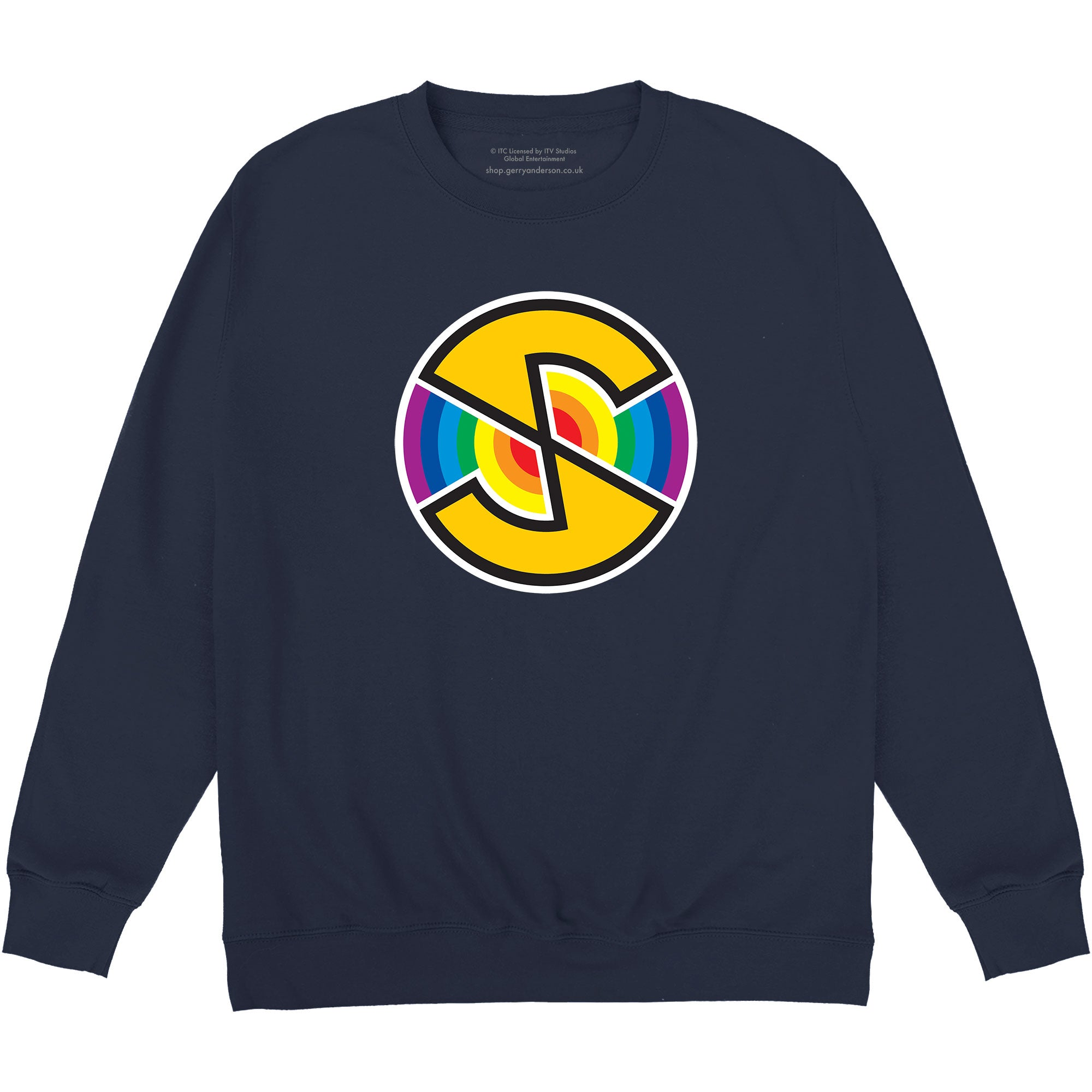 Captain Scarlet Spectrum Logo Sweatshirt [Official & Exclusive] - The Gerry Anderson Store