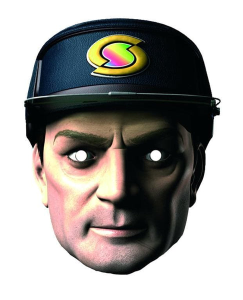 New Captain Scarlet Mask: Captain Black - The Gerry Anderson Store