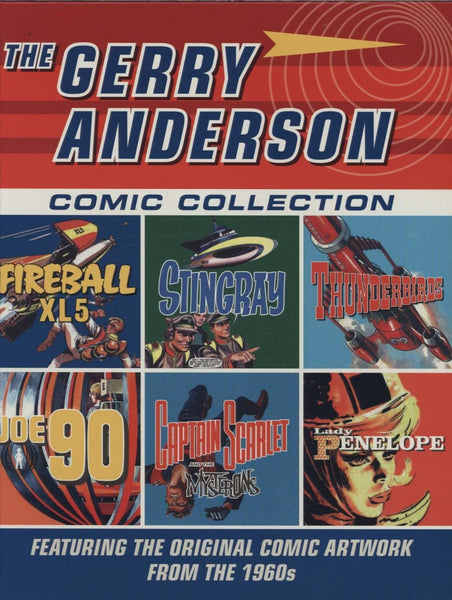 Gerry Anderson The Comic Collection - The Gerry Anderson Store