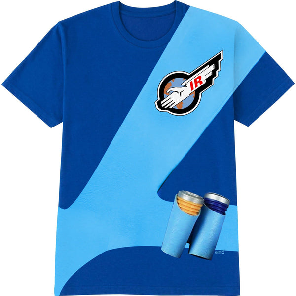 Thunderbirds Cosplay T-Shirt - Scott Tracy [Official & Exclusive] - The Gerry Anderson Store