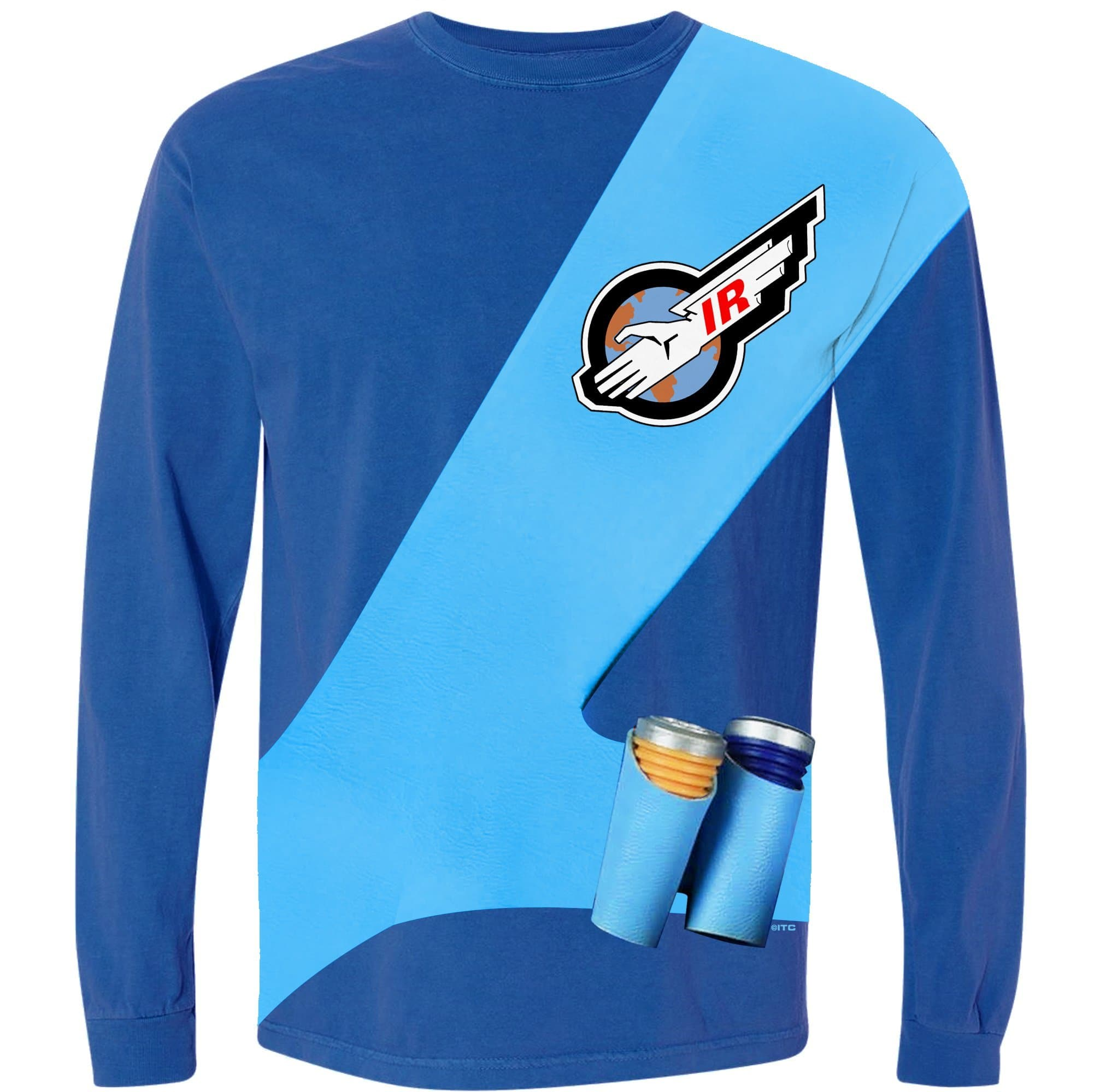 Thunderbirds Cosplay Long Sleeve T-Shirt - Scott Tracy [Official & Exclusive] - The Gerry Anderson Store