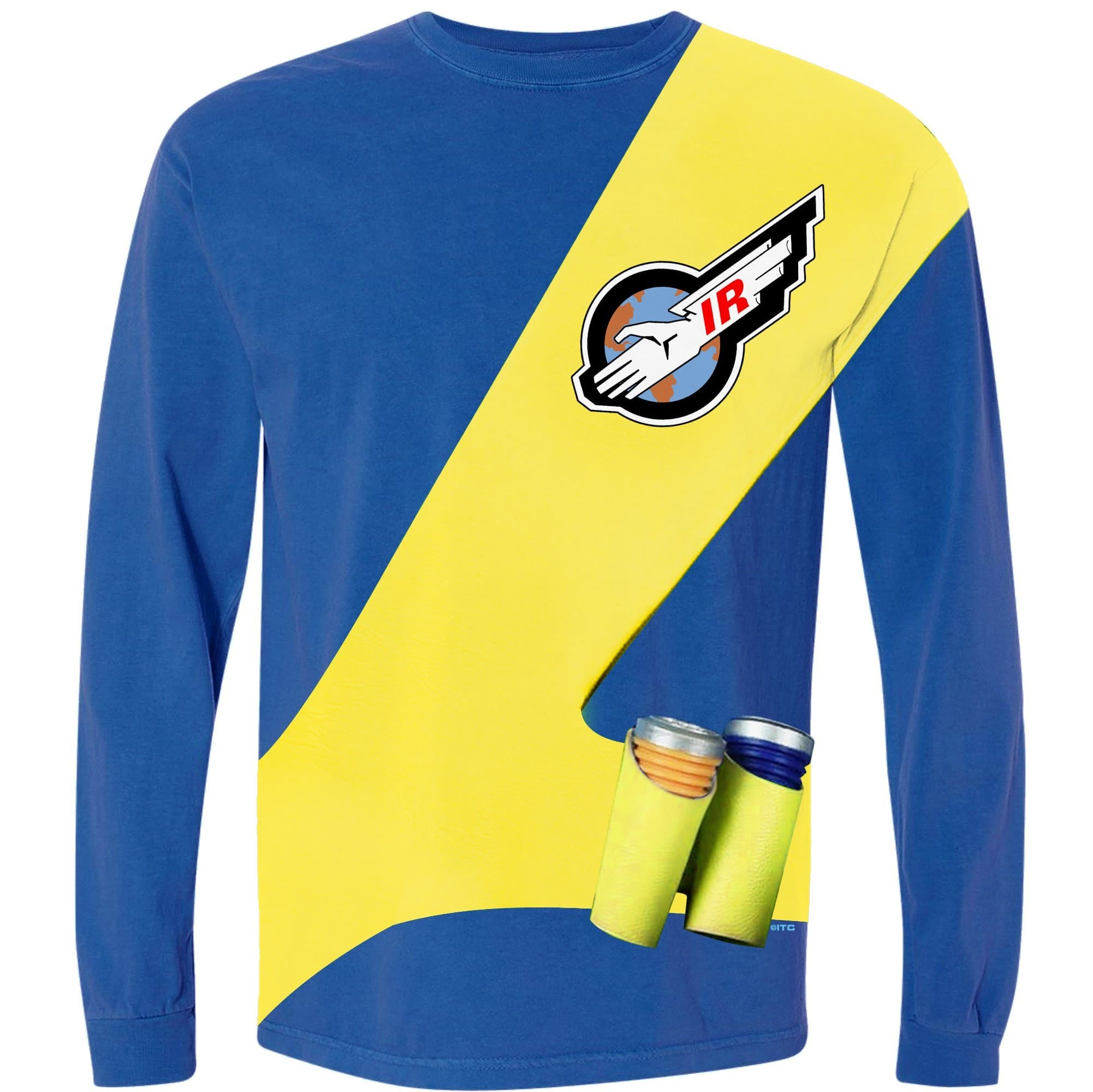 Thunderbirds Cosplay Long Sleeve T-Shirt - Virgil Tracy [Official & Exclusive] - The Gerry Anderson Store