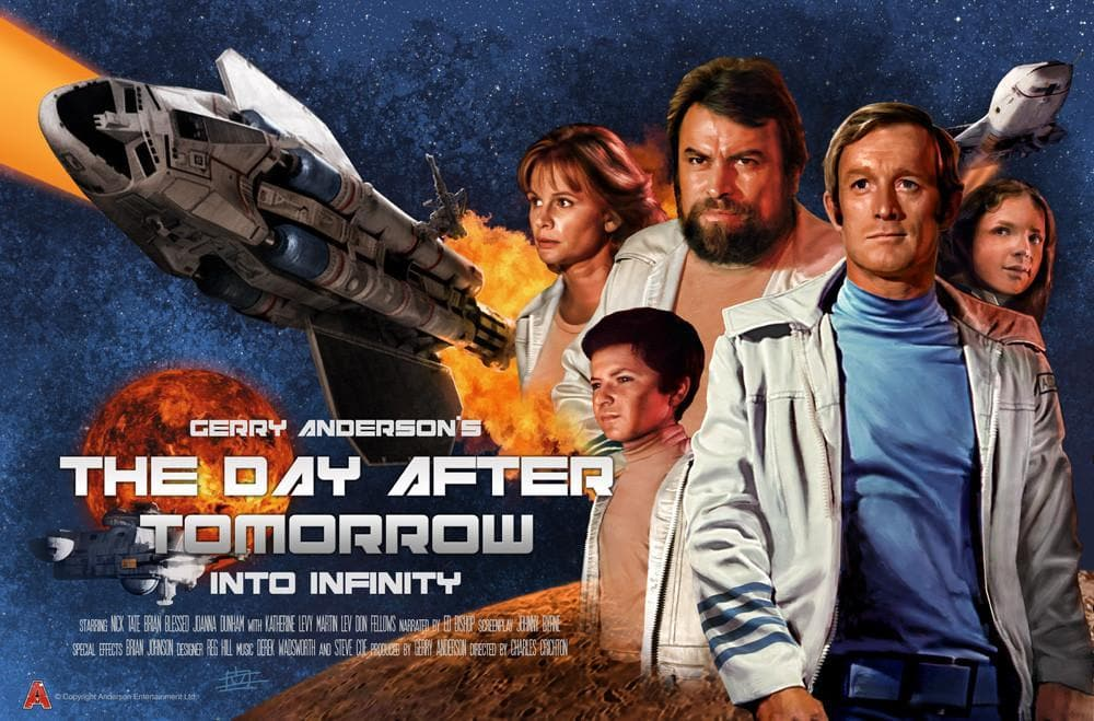 Into Infinity Poster by Eric Chu - Gerry Anderson Official
