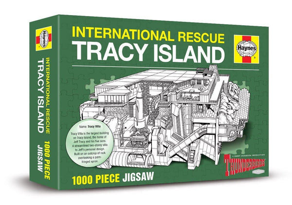 Haynes Tracy Island Jigsaw Puzzle - The Gerry Anderson Store