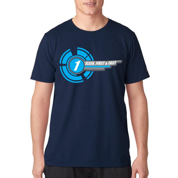 "Gerry Anderson inspired ""1"" t-shirt [1 of 5] - The Gerry Anderson Store"