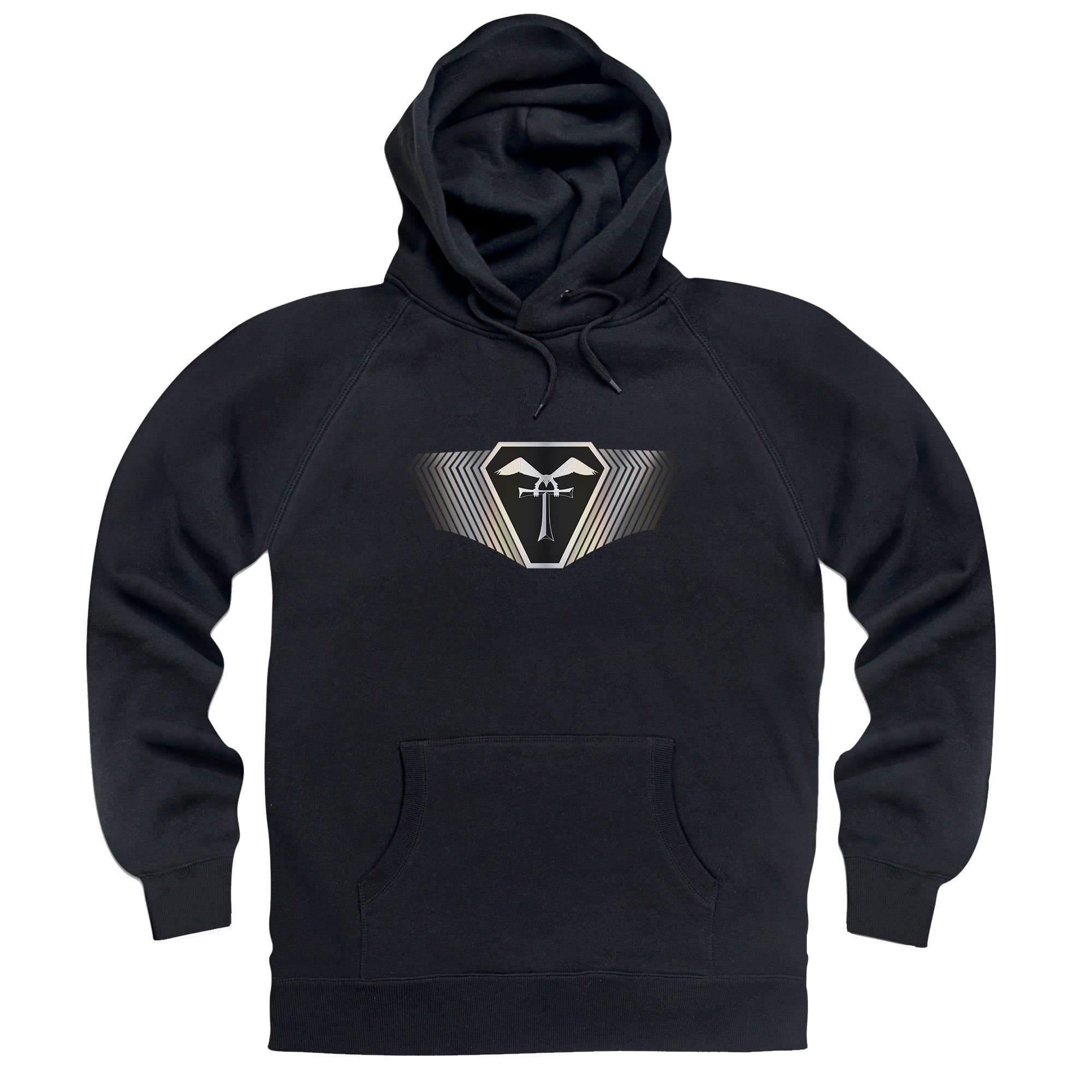 Terrahawks Silver Emblem Hoodie [Official & Exclusive]
