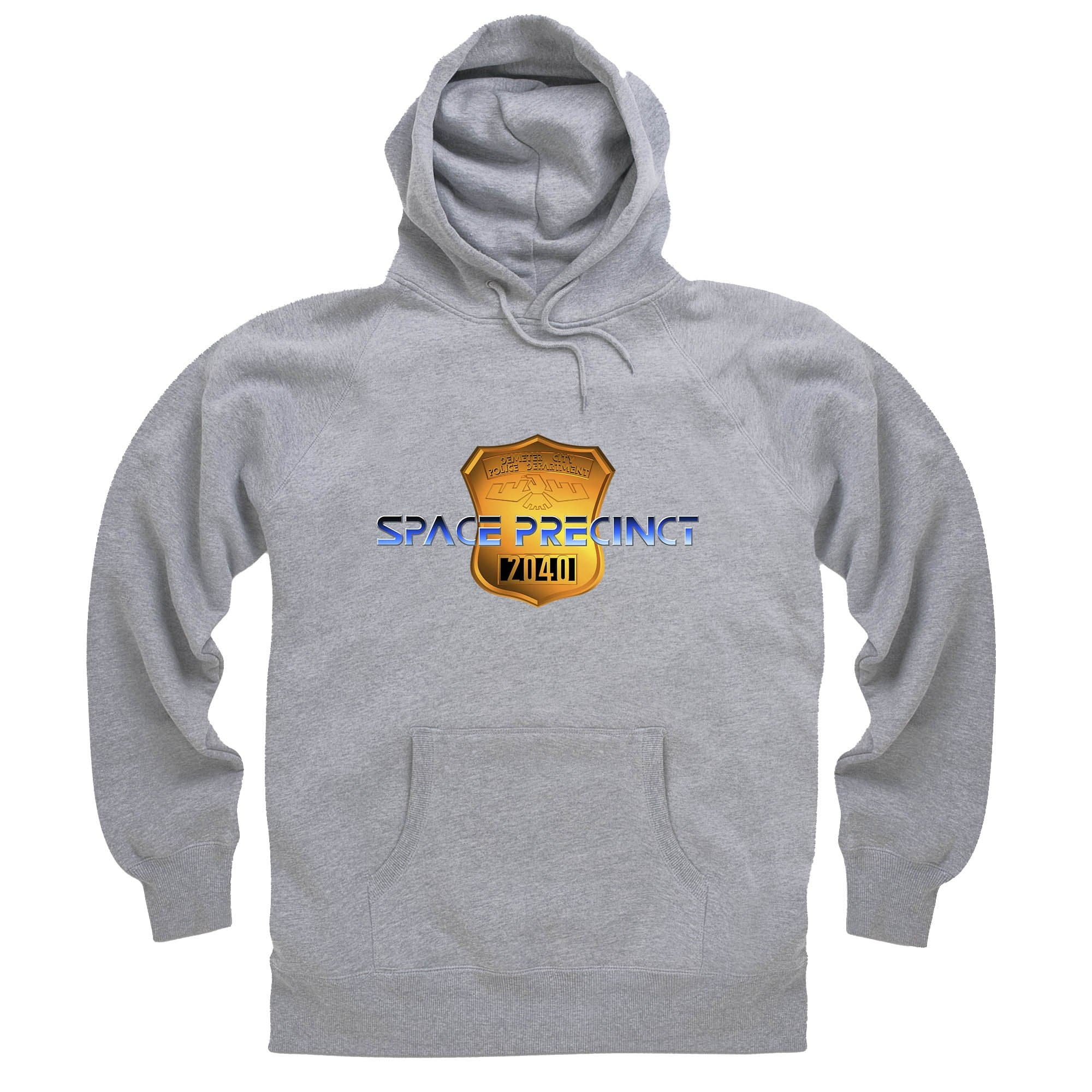 Space Precinct Logo Hoodie [Official & Exclusive] - The Gerry Anderson Store