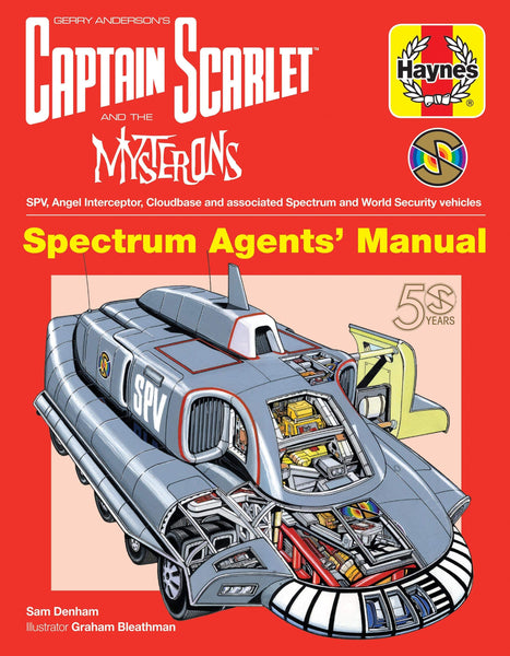 Captain Scarlet and the Mysterons Haynes Manual