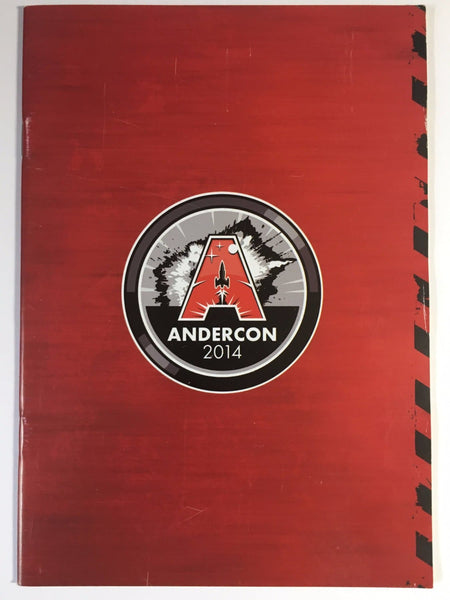 Andercon 2014 Commemorative Brochure (Gerry Anderson Convention)