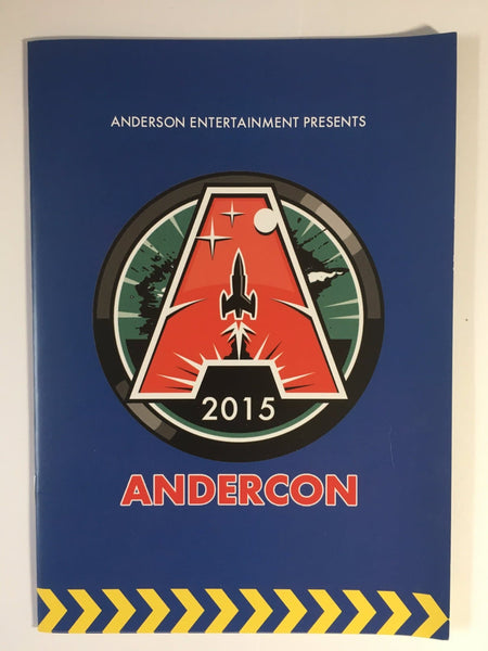 Andercon 2015 Commemorative Brochure (Gerry Anderson Convention)