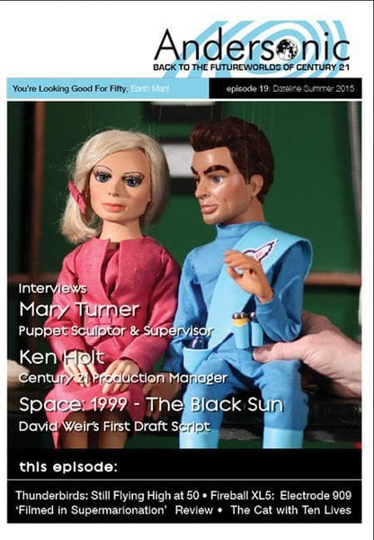 Andersonic Fanzine - Issue 19 (Summer 2015) - The Gerry Anderson Store