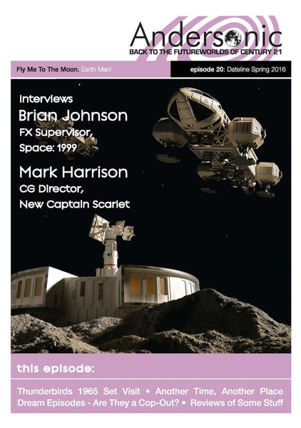 Andersonic Fanzine - Issue 20 (Spring 2016) - The Gerry Anderson Store
