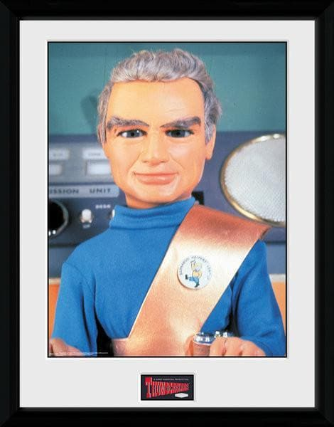 Jeff Tracy - Thunderbirds Print [Framed] - The Gerry Anderson Store