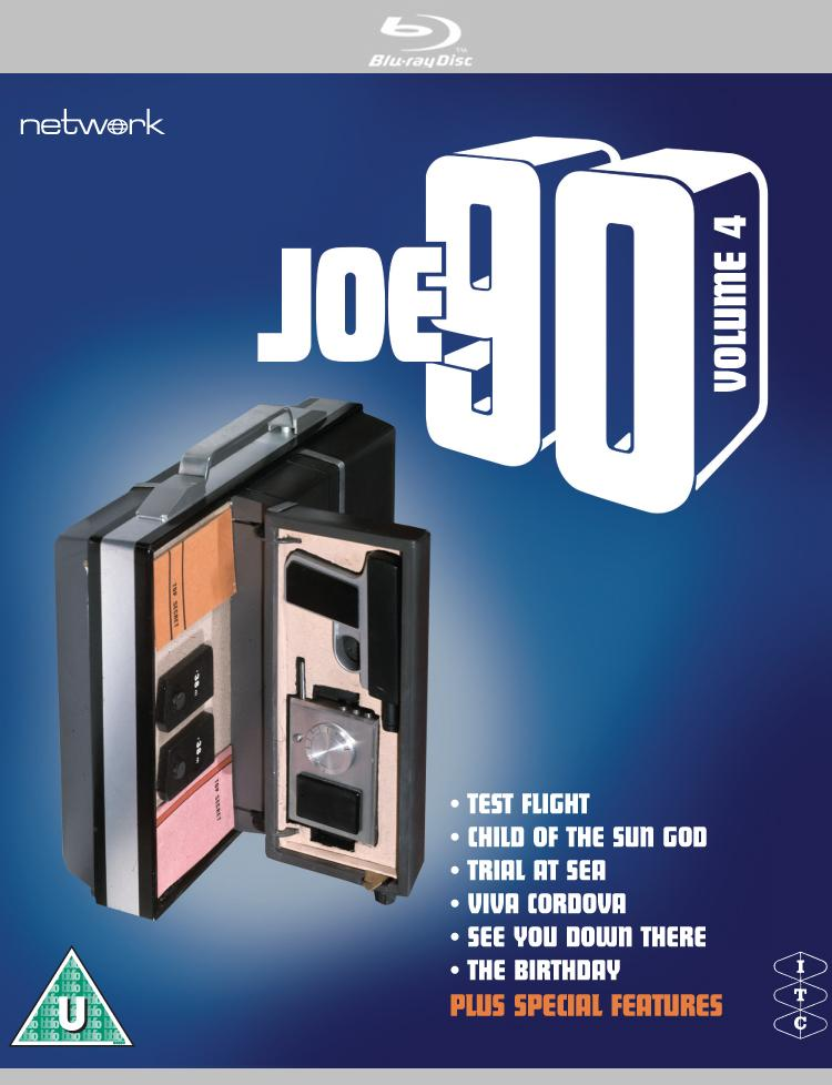 Joe 90: Volume 4 Deluxe Edition [BLU-RAY] - The Gerry Anderson Store