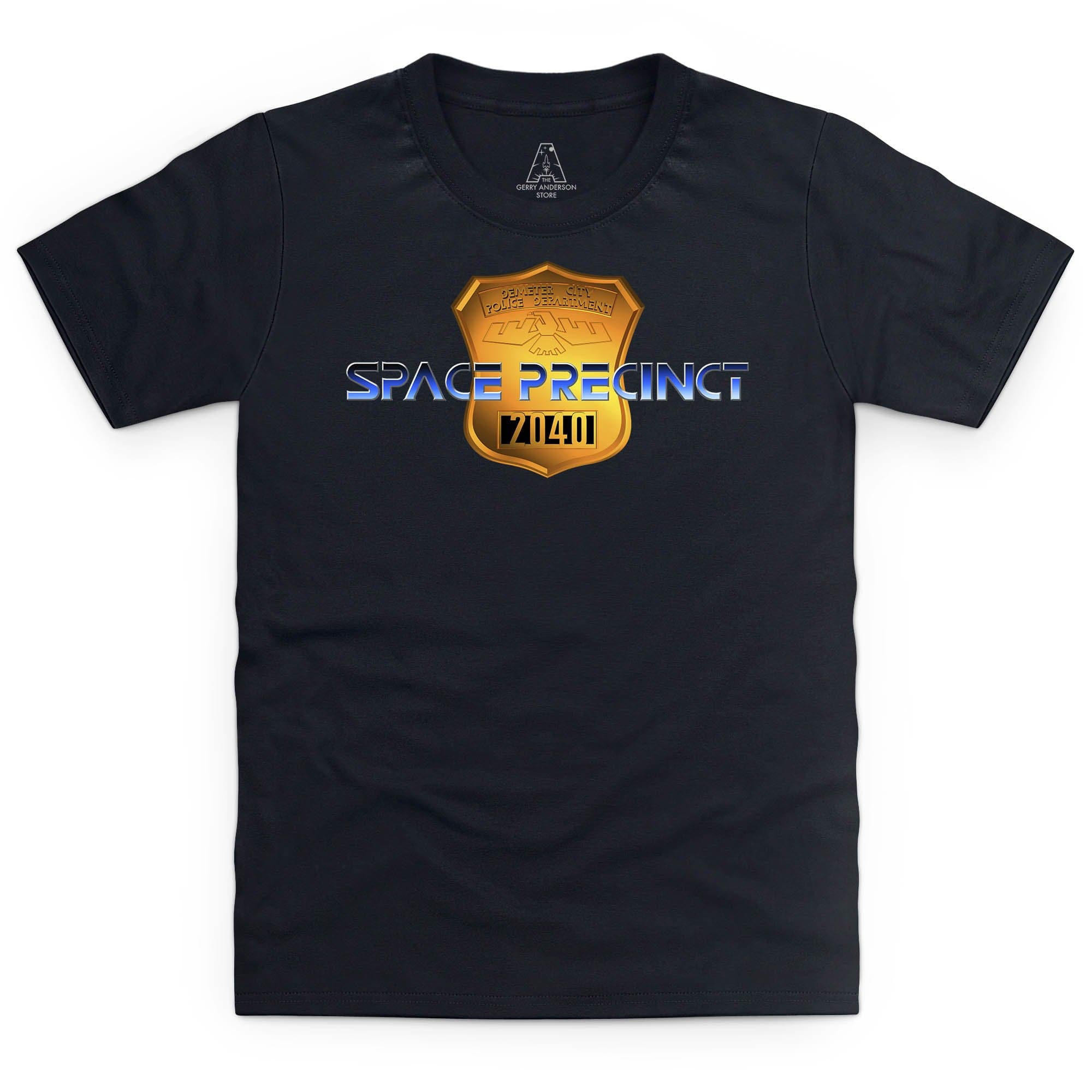 Space Precinct Logo Kid's T-Shirt [Official & Exclusive] - The Gerry Anderson Store