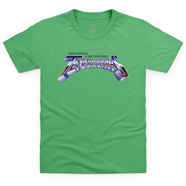 Terrahawks Logo Kid's T-Shirt [Official & Exclusive] - The Gerry Anderson Store