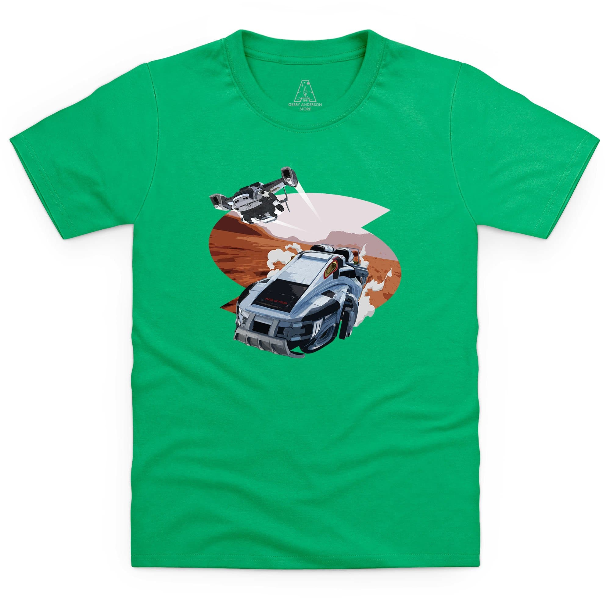 New Captain Scarlet Rhino Kid's T-Shirt [Official & Exclusive]