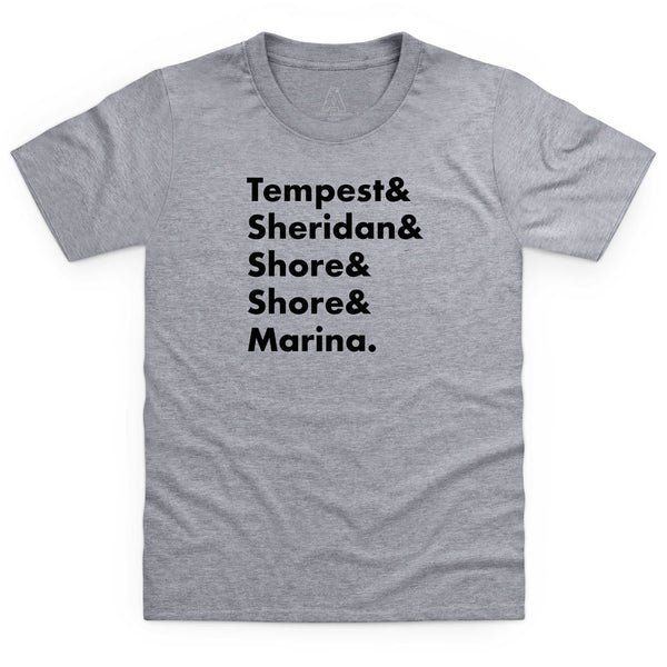 Heroes of Marineville Stingray Kid's T-Shirt [Official & Exclusive] - The Gerry Anderson Store