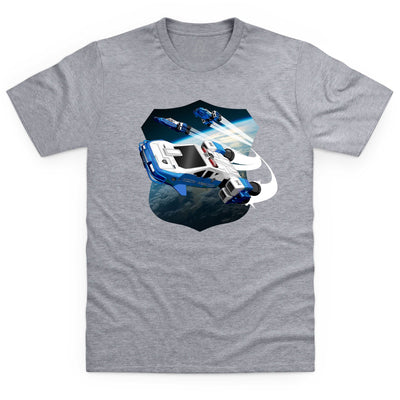 Space Precinct Cruiser Kid's T-Shirt [Official & Exclusive] - The Gerry Anderson Store