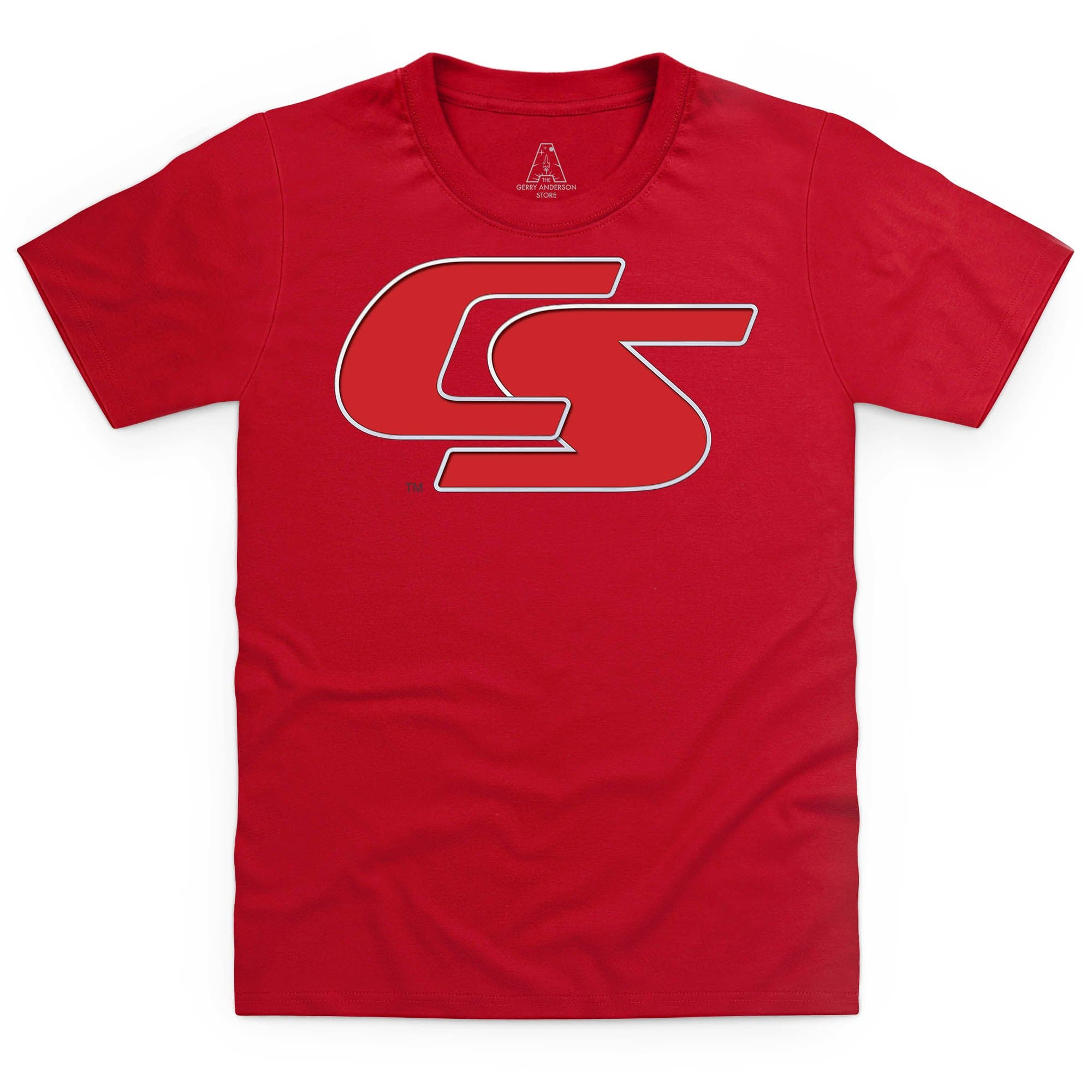 New Captain Scarlet Logo Kid's T-Shirt [Official & Exclusive] - The Gerry Anderson Store