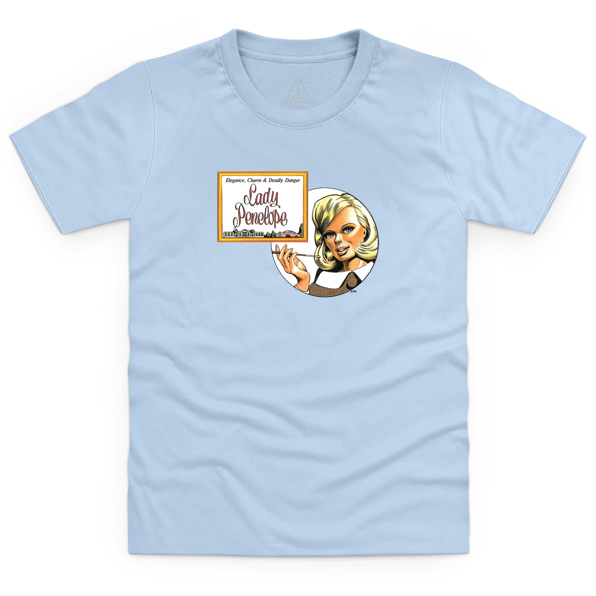 Thunderbirds Lady Penelope Kid's T-Shirt [Official & Exclusive]