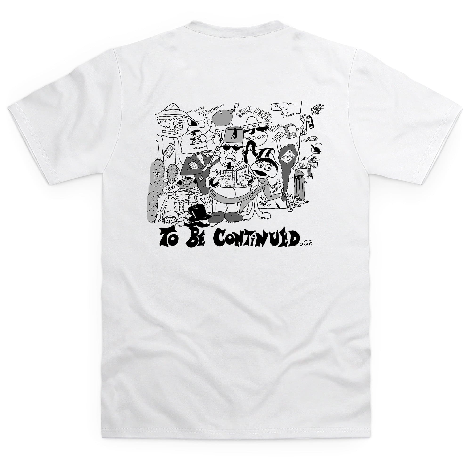 Dick Spanner Comic Strip Kid's White T-Shirt [Official & Exclusive] - The Gerry Anderson Store