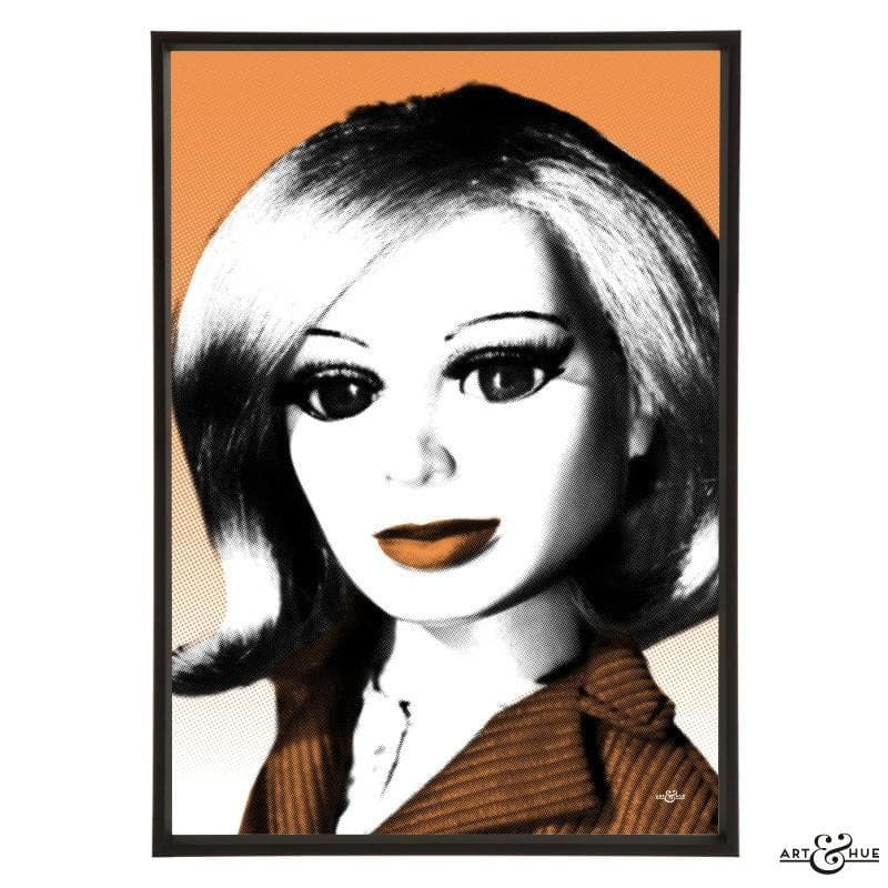 Pop art portrait of Lady Penelope - The Gerry Anderson Store
