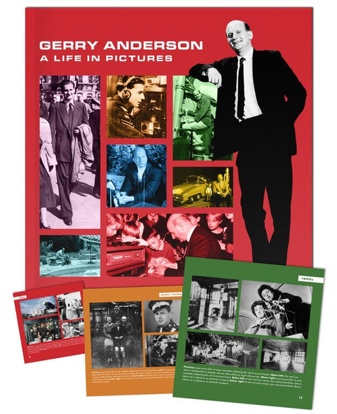 Gerry Anderson: A Life in Pictures [Hardcover] - Gerry Anderson Official