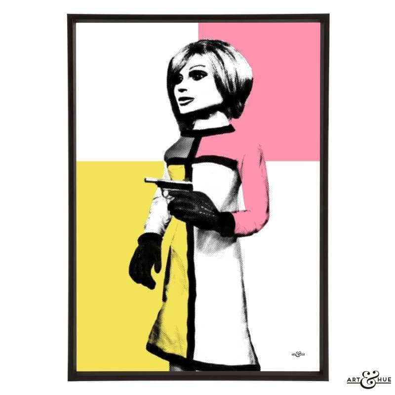Pop art portrait of London Agent Lady Penelope - The Gerry Anderson Store