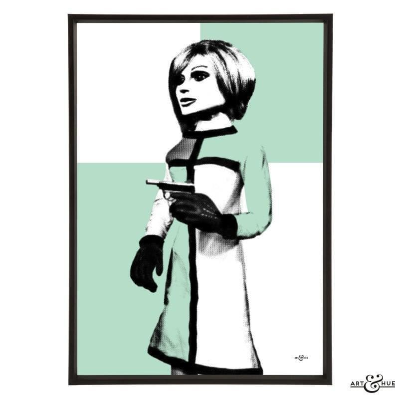 Pop art portrait of London Agent Lady Penelope - Gerry Anderson Official - 5