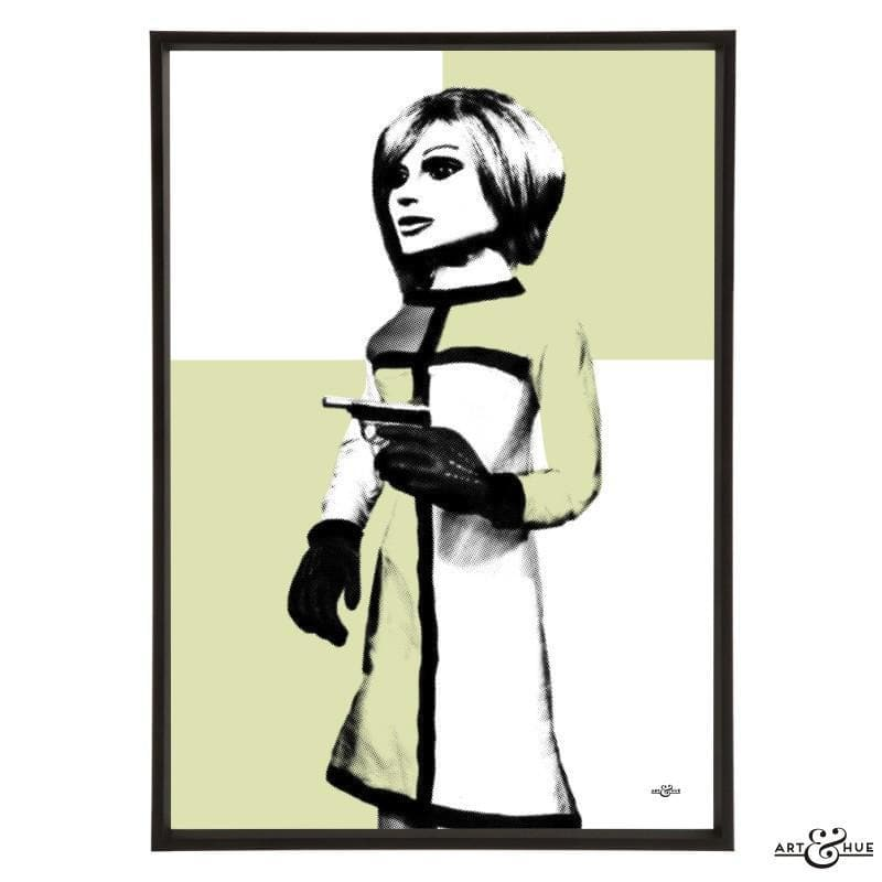 Pop art portrait of London Agent Lady Penelope - Gerry Anderson Official - 4