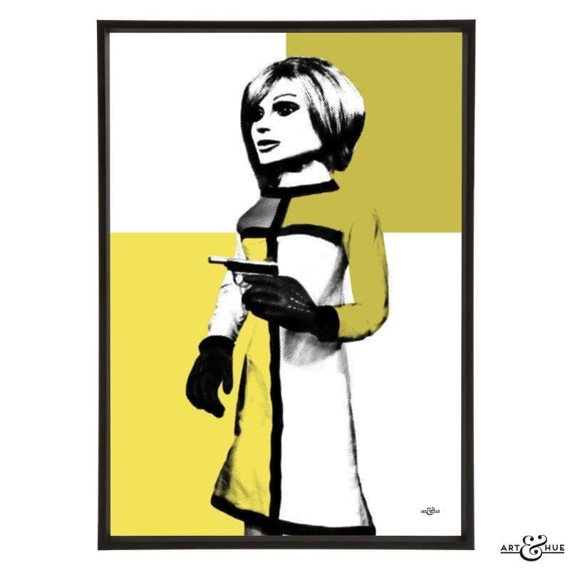 Pop art portrait of London Agent Lady Penelope - Gerry Anderson Official - 26