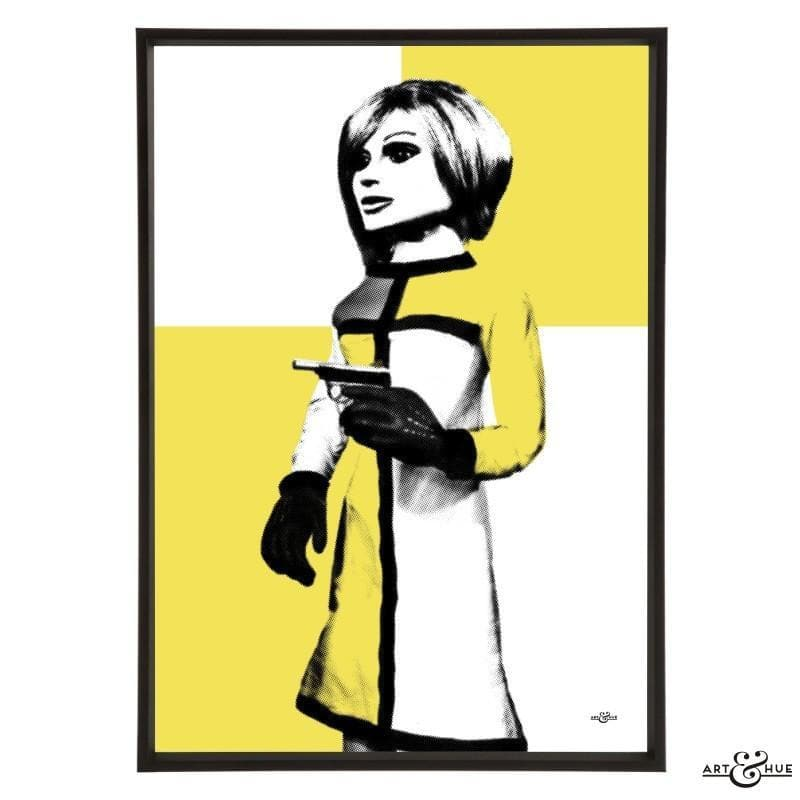 Pop art portrait of London Agent Lady Penelope - Gerry Anderson Official - 3