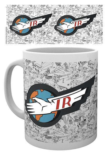 Thunderbirds Mug - International Rescue Logo - Gerry Anderson Official