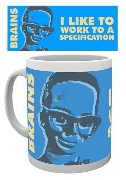Thunderbirds Mug - Brains: I like to work to a specification - Gerry Anderson Official