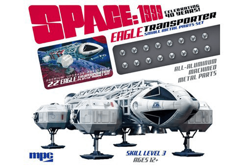 **NEW** Small Metal Parts Pack For Eagle Transporter Model Kit - Gerry Anderson Official - 1