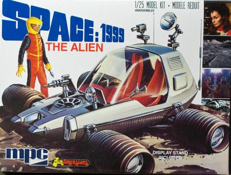 **NEW** Space:1999 'The Alien' Moon Buggy - Gerry Anderson Official